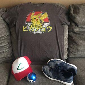 c3b66e6a Pokemon Shirts | Mens Pokmon Pikachu Tshirt Japanese | Poshmark